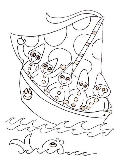 dessin bateau de course coloriage bateau de course