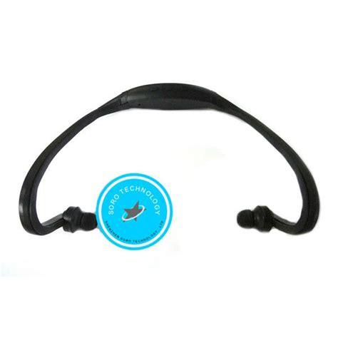 sports headsetfm radio microsd oem blackred headset olahraga dengan fm radio slot microsd oem