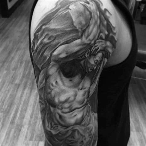 sisyphus tattoo 30 sisyphus designs for mythology ink ideas