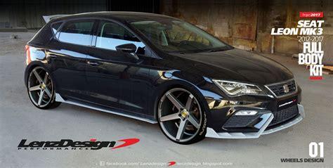 Lion Tuning Aufkleber by Seat Leon Mk3 5f Tuning Body Kit Lenzdesign Performance