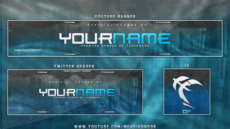 design youtube header youtube banner template download best business template