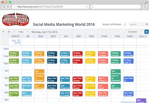 colors schedule teamup calendar free shared calendar for groups