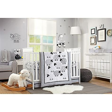 sheep baby bedding nojo 174 good night sheep crib bedding collection buybuy baby