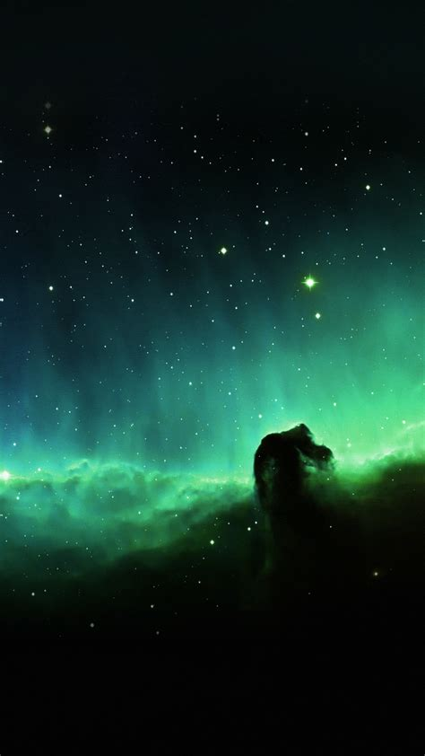 wallpaper for iphone stars horse head blue nebula sky space stars iphone 7