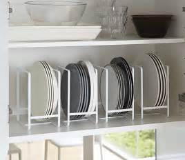 Kitchen Cabinet Plate Rack Storage Vertical Plate Rack Tidy Kitchen Organisation Worktop
