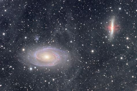 Image Gallery M81 M82 National Optical Astronomy Observatory M81 M82