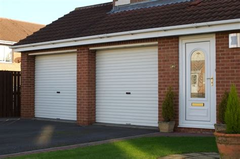 Gliderol Manual Single Skin Roller Garage Door Uk Made by Gliderol Mini Roller Door Manual Opening Roller Garage
