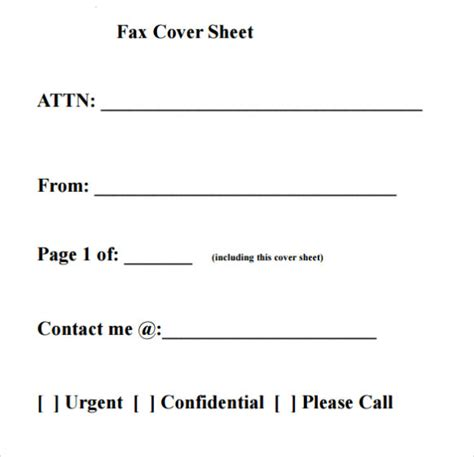 fax cover letter sles printable fax cover sheet letter template pdf