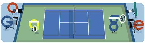 doodle tennis celebrates start of u s open with tennis