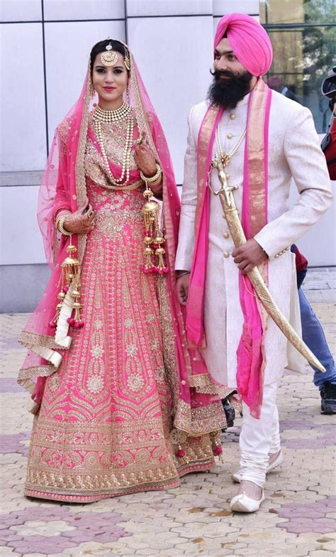 Sikh Fashion Sikh Wedding Urban Sardar   Pink is such an