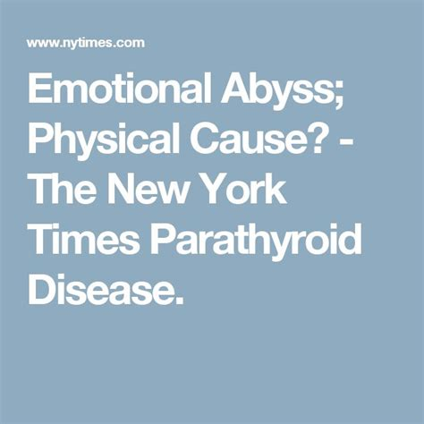 Can Emotional Healing Cause Physical Detox by 1000 Images About Parathyroid Disease On