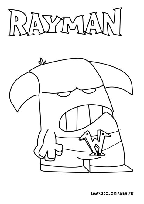 rayman coloring pages free coloring pages of rayman origins rayman