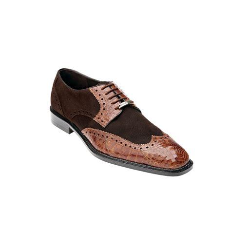 belvedere shoes belvedere pergola crocodile suede shoes brown