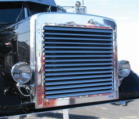 semi truck parts and accessories peterbilt extended grill tp 1006 semi truck parts and