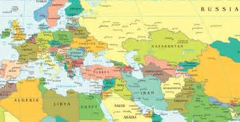 Map Of Europe And Middle East by Similiar Map Of Europe And Middle East Keywords