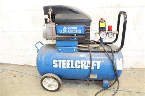 steel craft ta 25 air compressor property room