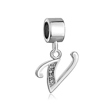 pandora letter initial k dangle charm