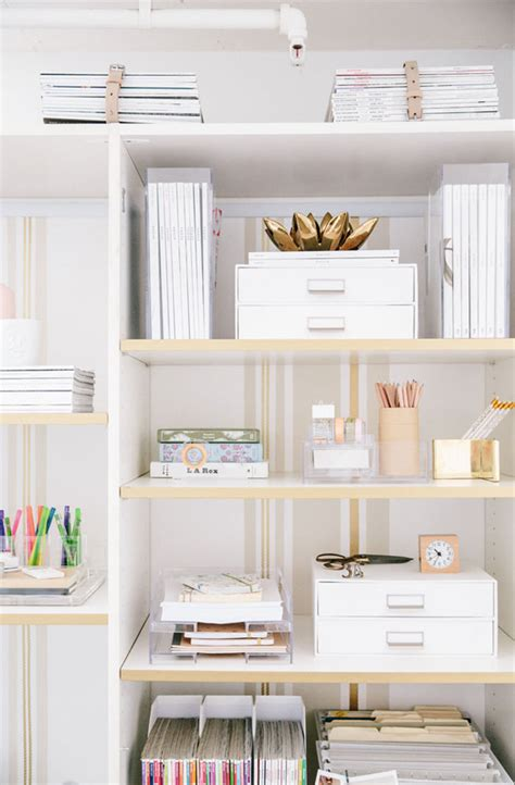 organization shelves put a prop on it office styling revealed apartment34