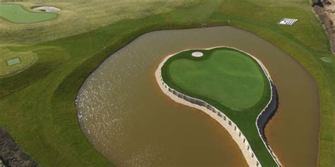 gareth bales backyard features  iconic golf holes