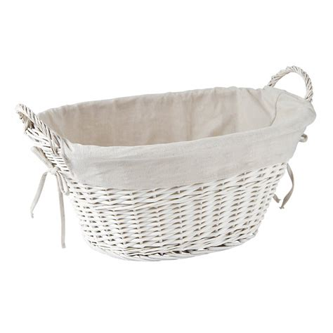 white wicker laundry buy white wicker laundry basket washing basket from the