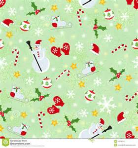 seamless cute christmas pattern stock images image 34079124
