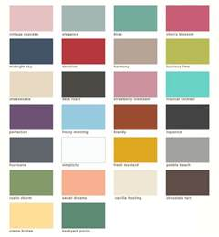 country chic paint colors color pinterest