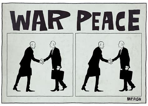 Peace War war and peace mr fish