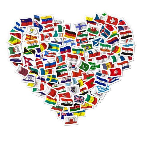 flags of the world banner heart flags portland flag association