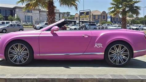 pink bentley convertible lamborghini and bentley go pink for breast cancer
