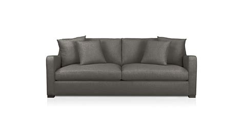 crate and barrel verano sofa verano medium grey sofa crate and barrel