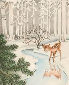 very merry vintage syle vintage christmas card vintage