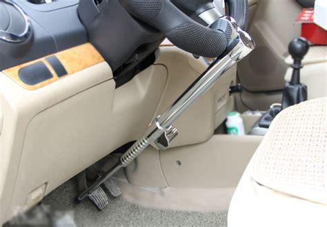 Steering Wheel And Brake Locked Car Lock Automobile Brake Clutch Steering Wheel Anti Theft