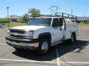 Chevrolet Utility Truck For Sale Chevrolet Silverado 3500hd 2004 Chevrolet Silverado
