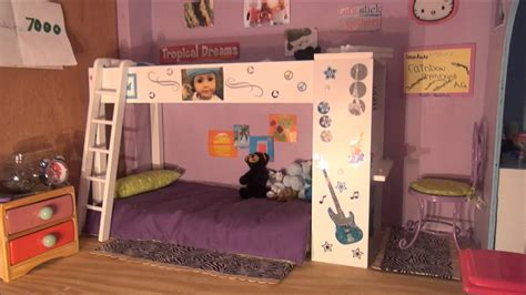 Cute Bedroom Decorating Ideas by American Doll House Tour Youtube