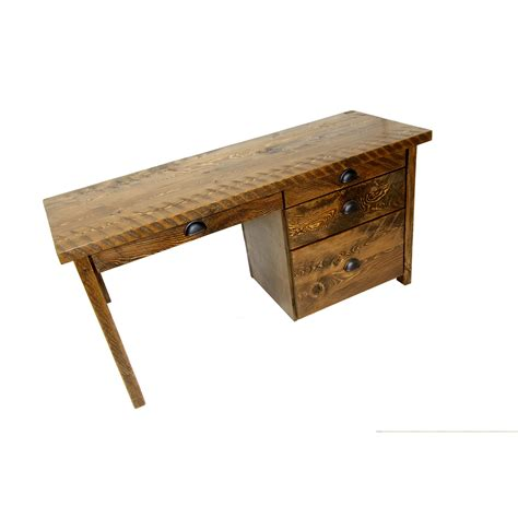 rustic desk with drawers rustic computer desk four corner furniture bozeman mt