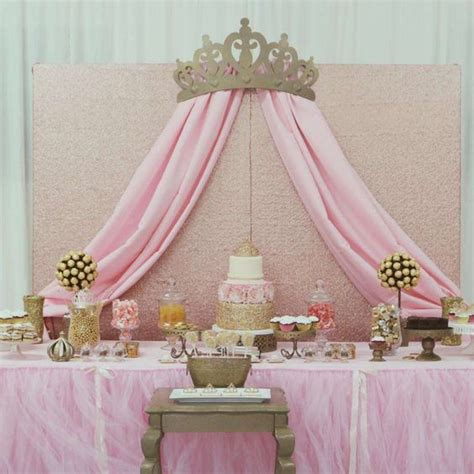 Baby Shower Princess Decorations by Princess Glam Baby Shower Ideas Princess Baby