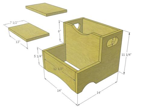 wood how to build step stool plans pdf plans