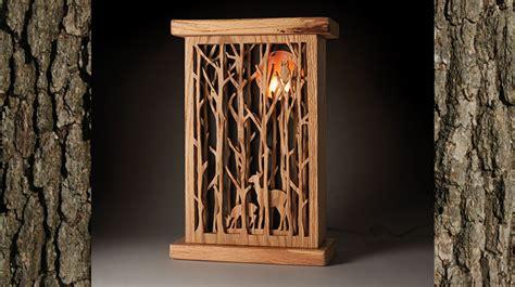 full moon nightlight scroll woodworking crafts