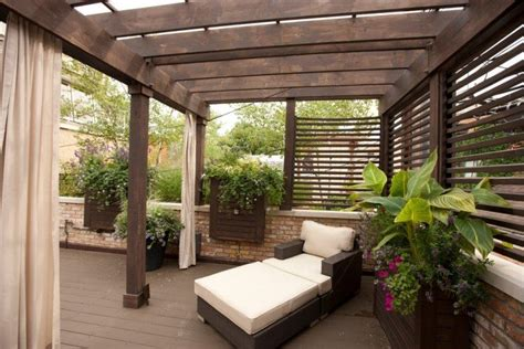 terrasse pergola pergola en bois pour la terrasse en 22 exemples superbes