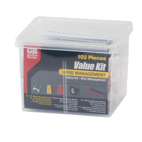 64 Pcs Mechanic Tool Set Mk 002 gardner bender 102 pc electrical value kit evk 002 the home depot