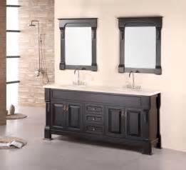 designing a bathroom vanity andover 72 inch cherry oak double sink bathroom vanity set
