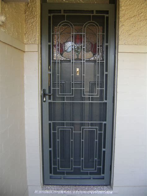 home security screen doors like success