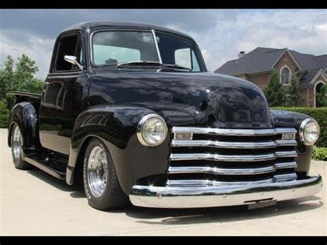 1951 chevy pickup street rod classic muscle car for sale