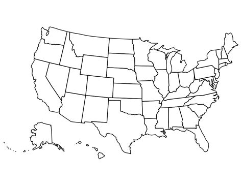 usa country map states editable usa map clipart clipart suggest