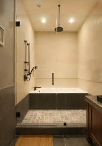 Japanese Shower Traditional Japanese Asian Bathroom Los Angeles By