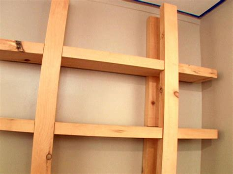 How Do I Build A Shelf by How To Build Reclaimed Wood Shelves How Tos Diy