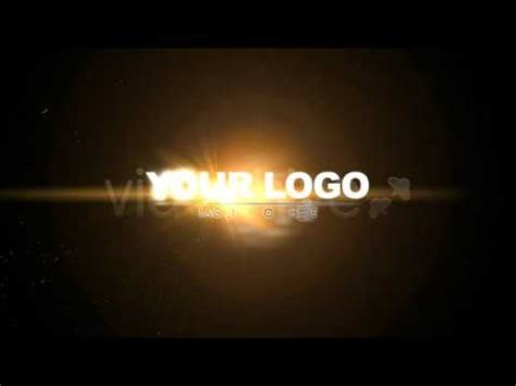 logo animation after effects after effects project files logo strings particles
