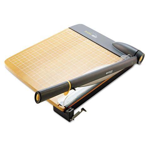 paper trimmer westcott trimair titanium guillotine 12 quot paper cutter acm15106 ebay