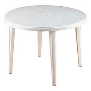 White Resin Patio Tables Plastic Patio Table White For Hire From Well Dressed Tables