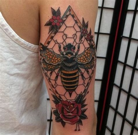 traditional bee tattoo 17 best images about bee goddess folk on